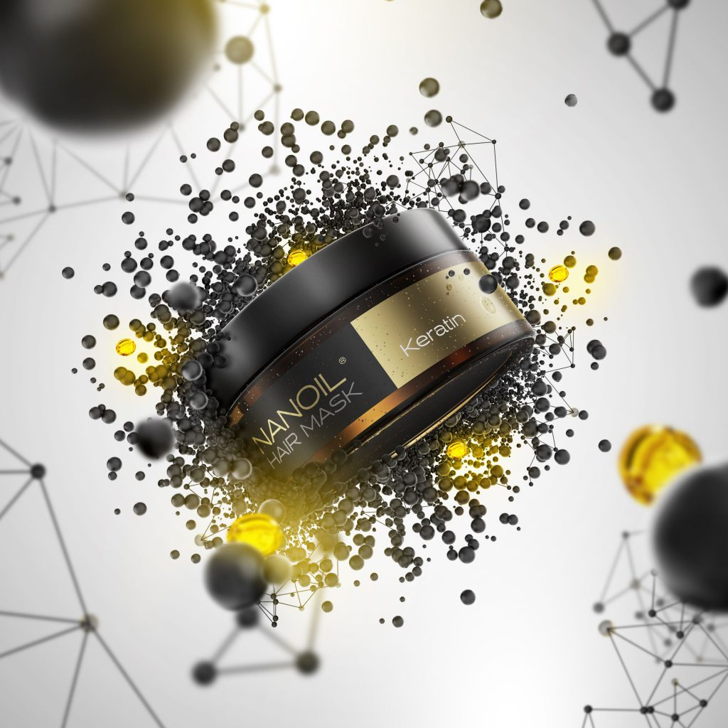 BESTSELLER! Maska do włosów Nanoil z keratyną – najlepsza droga do pięknych włosów